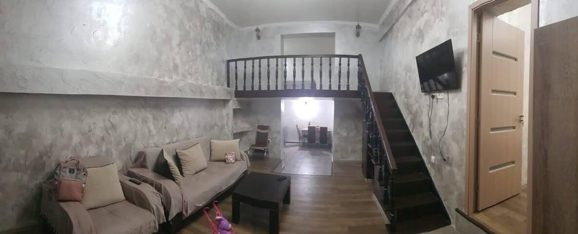 Кобулети. Квартира, 62 м2.  Аренда.