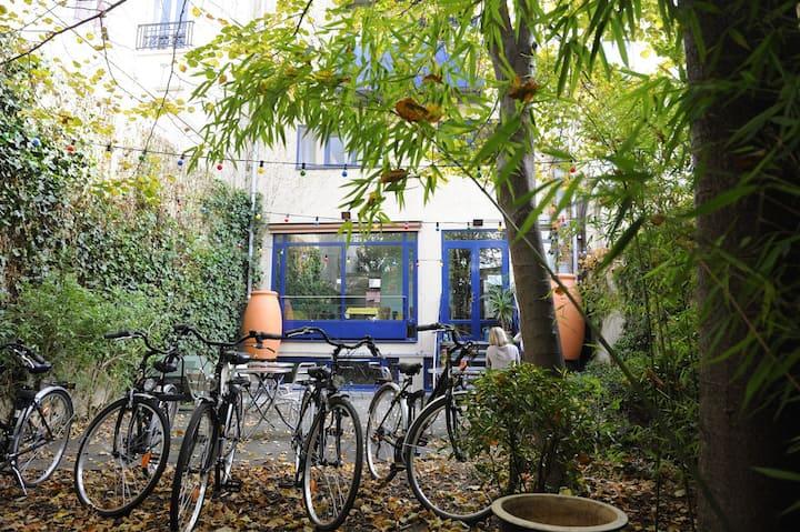 Maison écologique en plein cœur de Paris