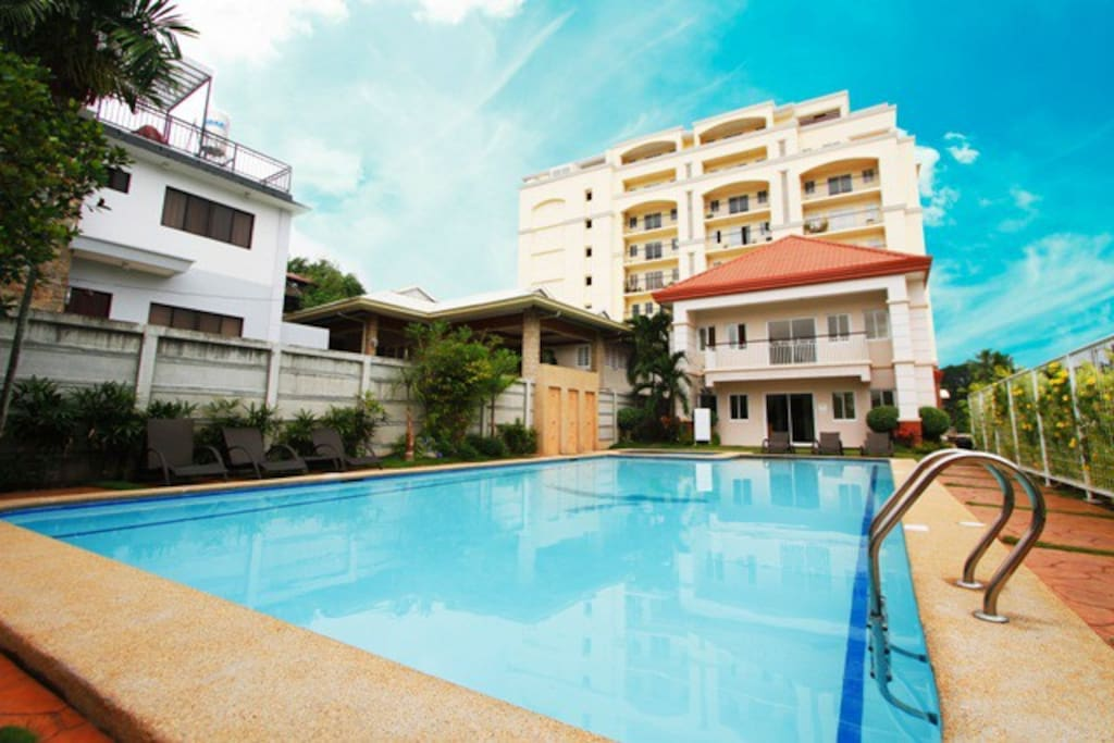 2br Condo With Swimming Pool And Security Guard Condominiums For Rent In Cebu City Central