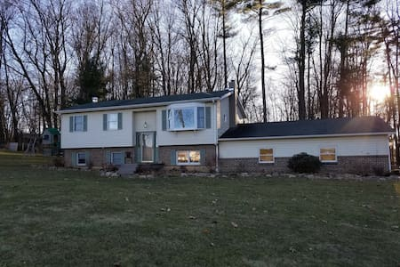 Family Friendly 4 Bdrm Home-12 Miles from PSU!