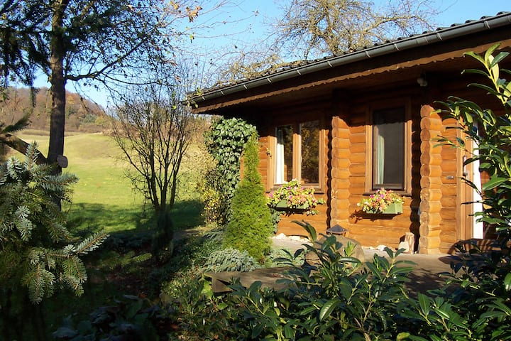 Finn. Blockhaus Fewo Anika Nationalpark Kellerwald