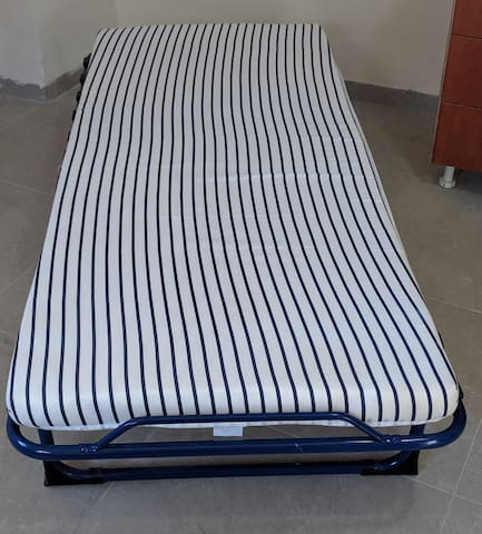 Extra folding bed can be supplied