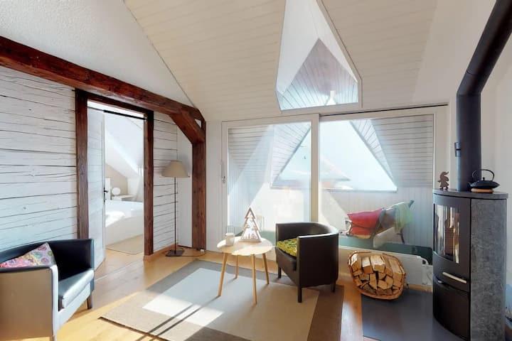 Charmant et lumineux appartement Duplex à Charmey