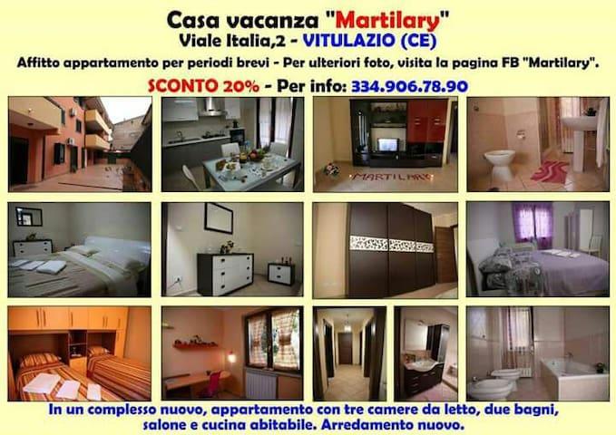 Casa vacanze Martilary Vitulazio - Vitulazio - Byt