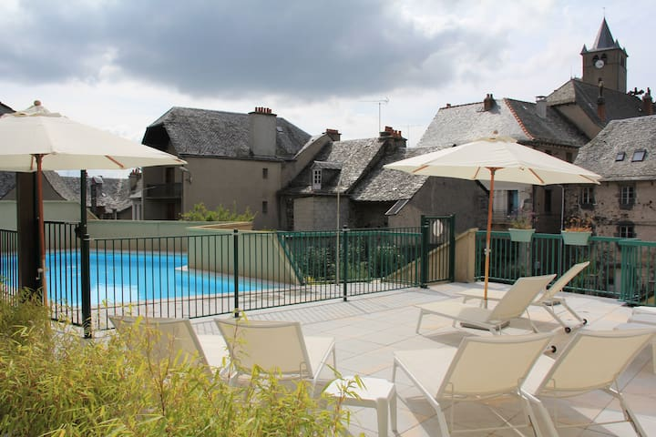 Appartement Laguiole centre en Aubrac