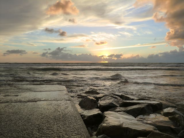 L'Ecapade, belle villa à la plage de Portbail. - Portbail
