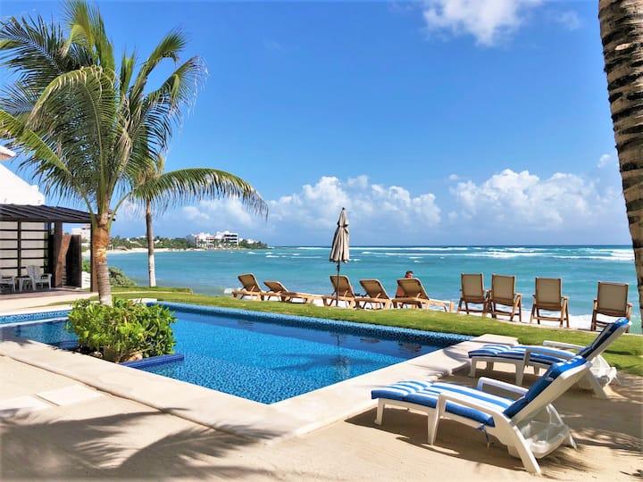 Brand New Modern condo on the beach! Pool, AC,WIFI