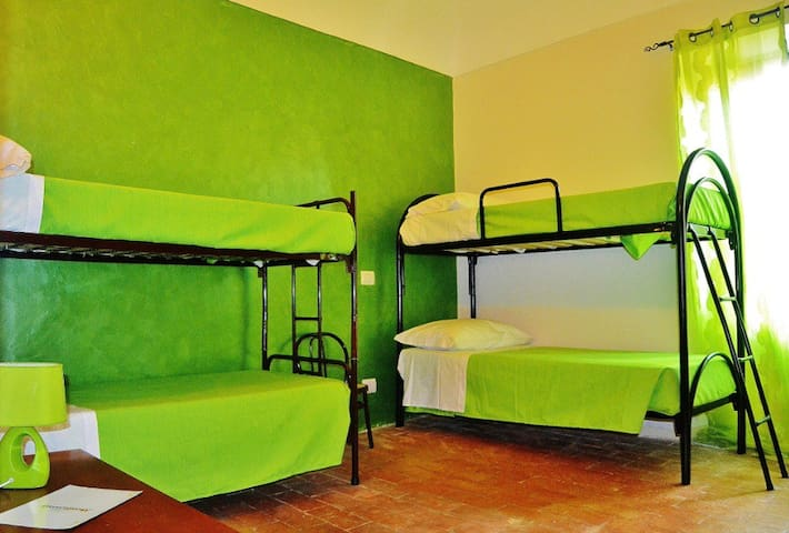 B&B Monteverde - single beds - Palmoli