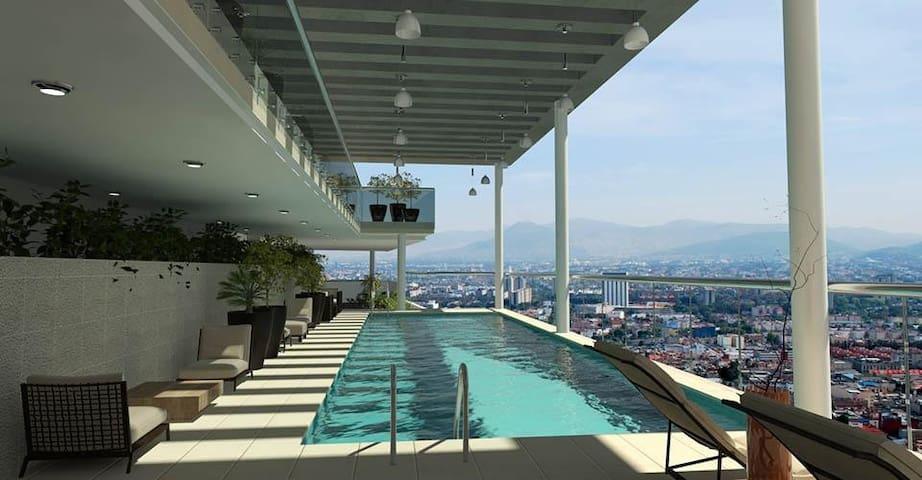 BONITO Y LUJOSO DEPTO CON INCREIBLES AMENIDADES - Ciudad de México - Apartment