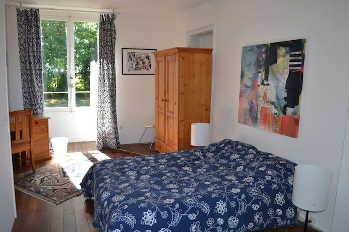 Chambre au calme - Saint-Hilaire-le-Châtel - Apartament