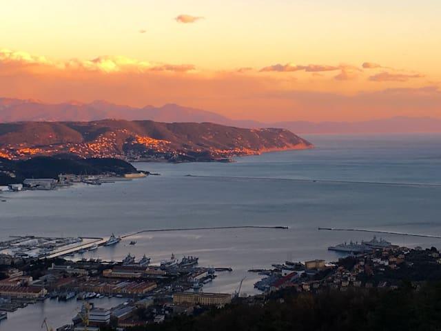 Depandance vista mare, cinqueterre - La Spezia - Byt