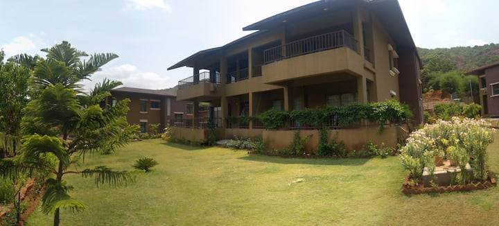 Lavasa 3 BHK Villa for Weekend Gateways- Villa 80