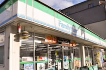 Neighborhood・附近・근처(convenience store(Family mart))(5mins on foot)