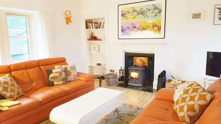 Award winning. Stylish & characterful, Cairngorms.