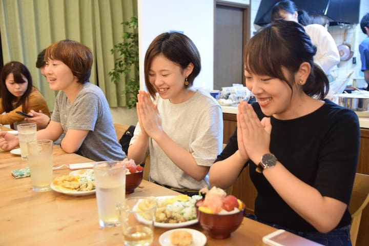 -Woman Only- Global meets Local Hostel KIKO