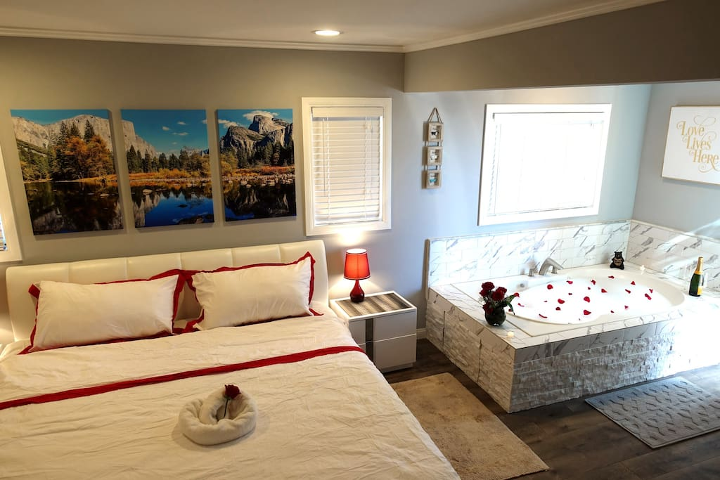 Comfy clean home with luxe setting for couples chalet for Cabine di noleggio in big bear ca