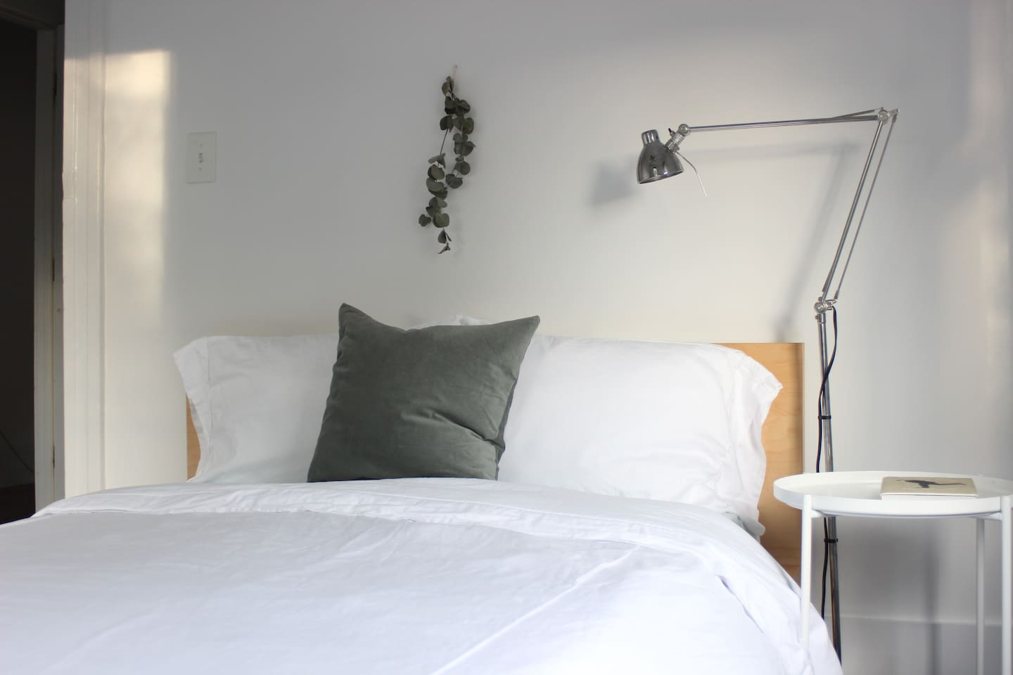 Fall asleep to the subtle scent of eucalyptus in your 300 thread count sheets and duvet