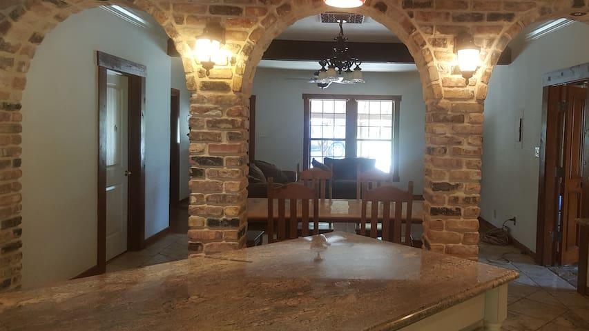 San Antonio Rustic Ranch Style Home