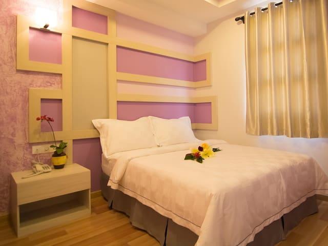 Clean and colorful rooms in Melaka Raya - Melaka - Guesthouse