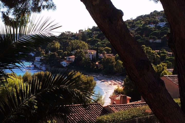 Villa Piccolina Aiguebelle Lavandou face aux îles