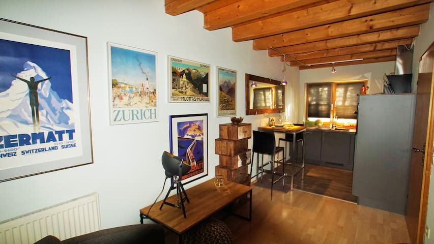 Top ausgestattetes Appartement mit Terrasse