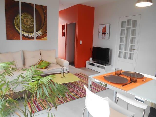Appartement indépendant 50 m² - Guéret - Leilighet