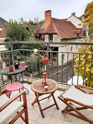 Cosy appartement entre ville et nature