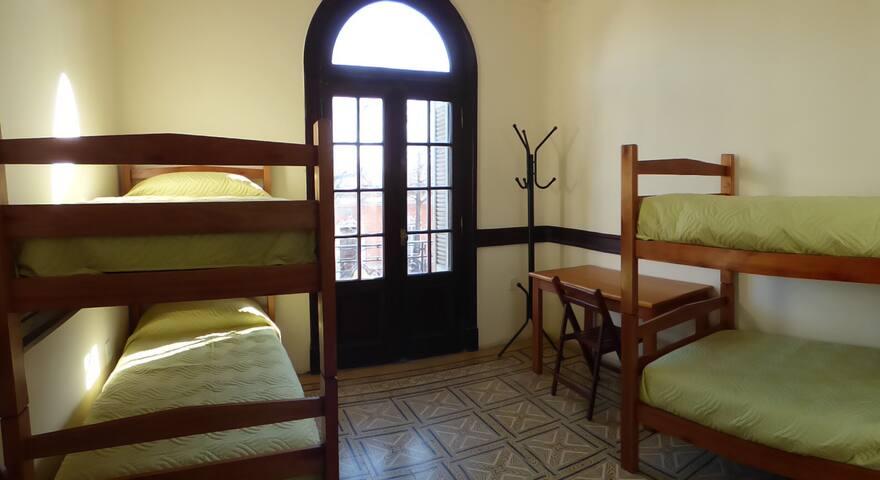 Habitación en Montevideo por día o por mes