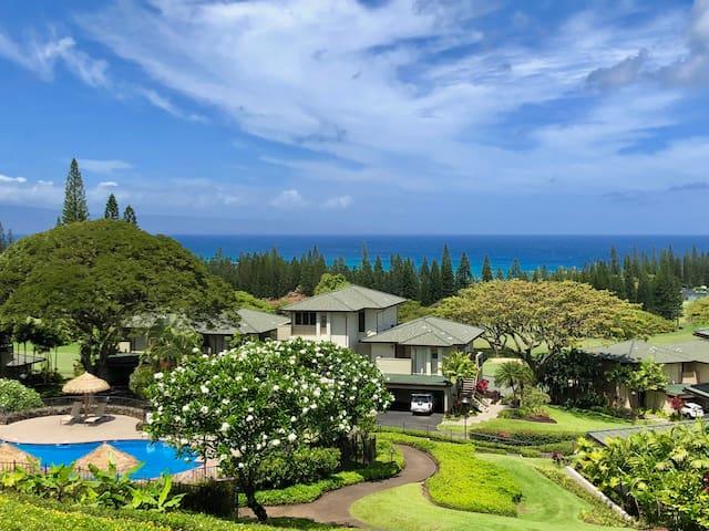 Kapalua Golf Villas! Panoramic Ocean View Unit!