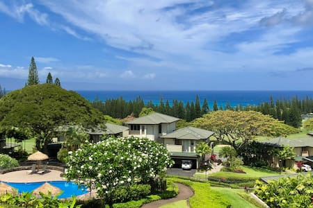 Kapalua Golf Villas! Panoramic Ocean View Unit!