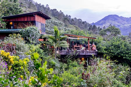 Beautiful mountain home with waterfall hikes. - Jarabacoa