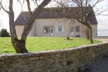 LUXURY FARMHOUSE NEAR NOLAY + A6, PAYS DE BEAUNE - Thury - Дом