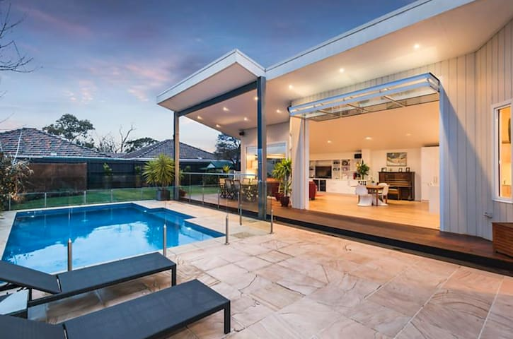 Bayside Melbourne Home with Gas Heated Pool - Hampton - Casa