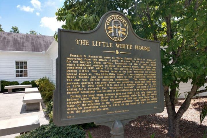 The Little White House