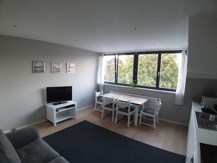 Private appartment within a family home