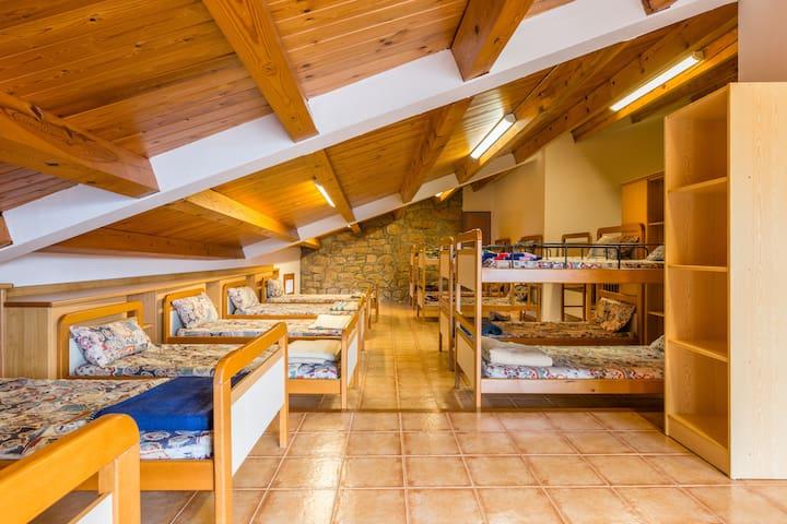 Alberg de Talarn - 1 - Camas Individuales en Habitación Mixta Compartida - Talarn - Appartement