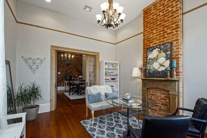 Beautiful historic Tremé home near French Quarter