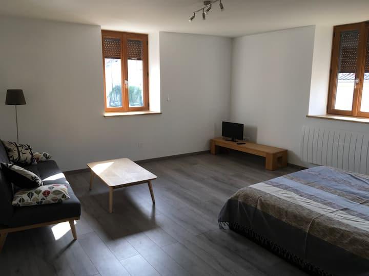 Appartement T1 rénové Saint Geoire en Valdaine
