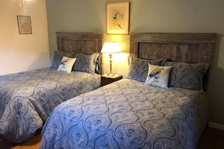 Calliope Room has two double beds.