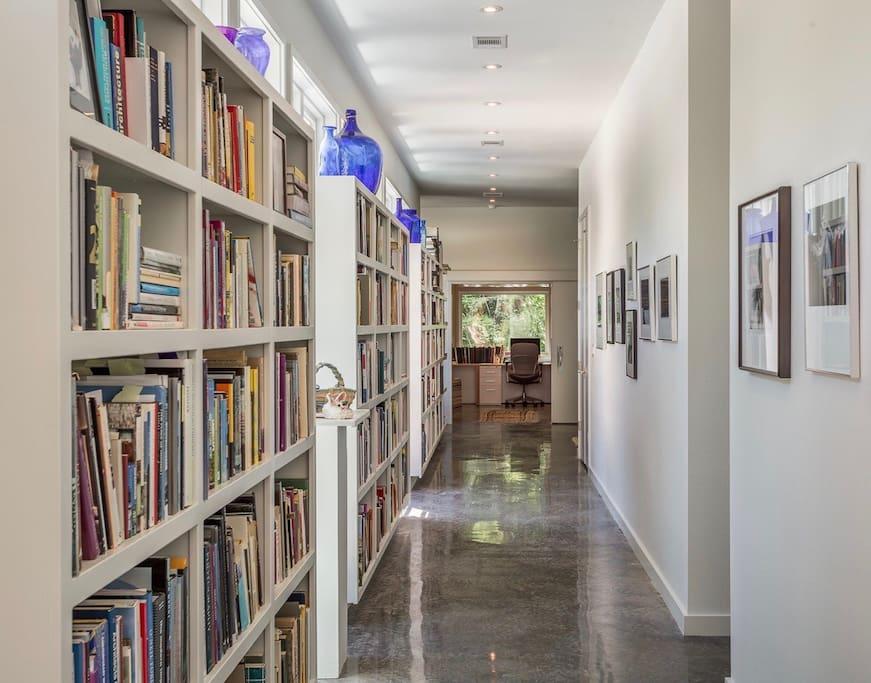 Entryway Bookspine