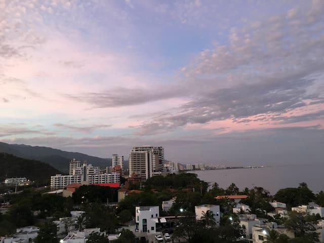 Apartamento- 1 Hab con hermosa vista al Mar Caribe