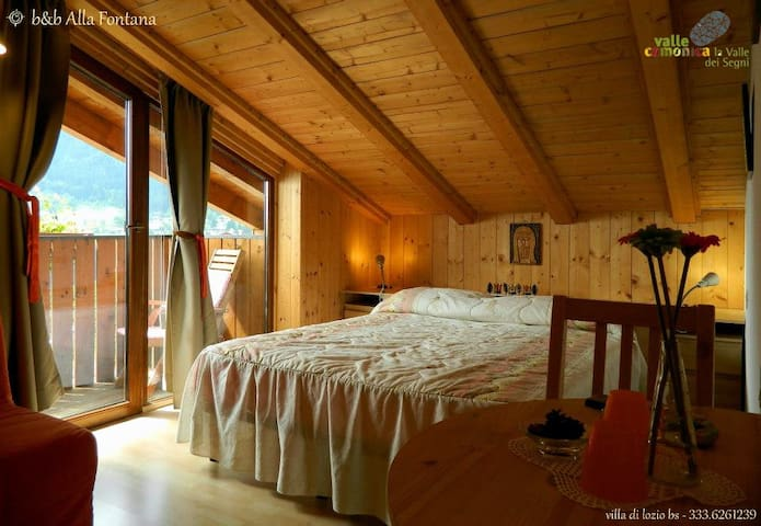 B&B ALLA FONTANA - Lozio, Valle Camonica (BS) - Villa - Bed & Breakfast