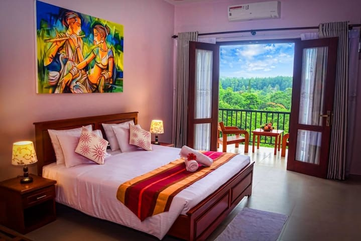 DLX Double Room with Balcony & Mountain View