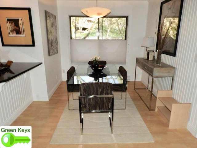 Cool Condo Retreat in Quiet Wooded Setting