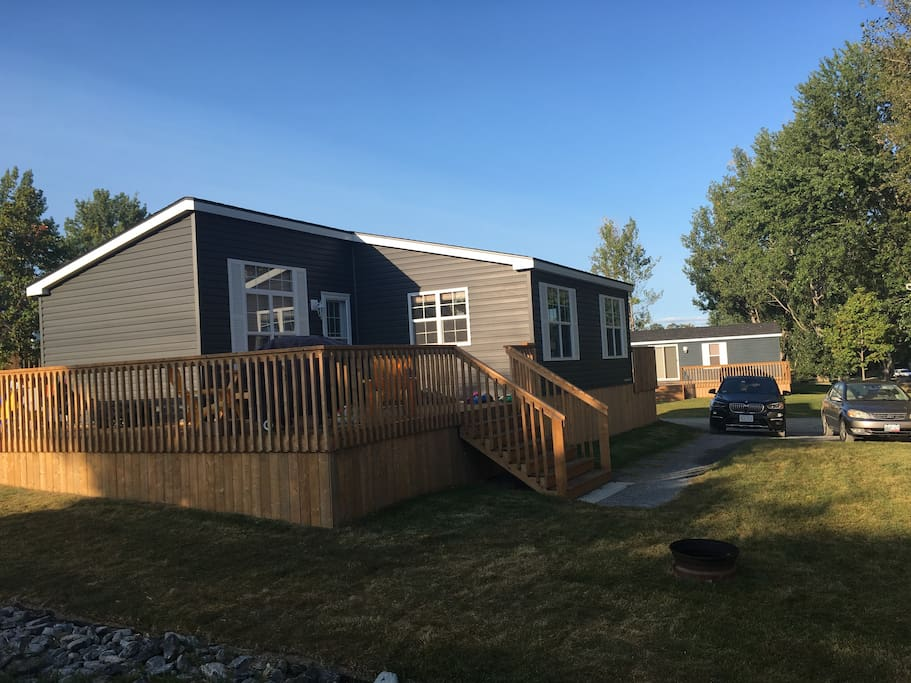 New cottage with 3-bed 2-bath at Cherry Beach Resort