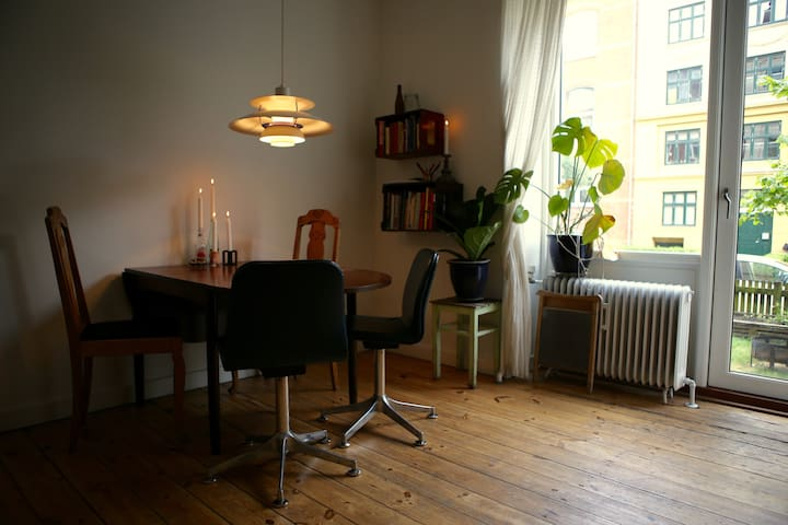 Cosy apartment with garden for two