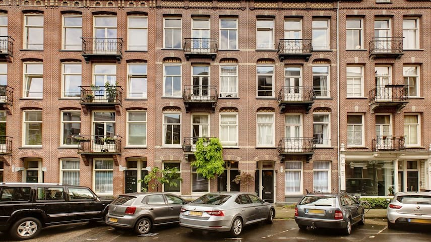Loveley appartment in the east of Amsterdam