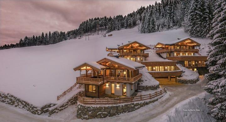 KitzChalets N8 C3 Traumhaftes Chalet im Skigebiet