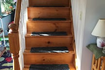 stairs leading to upstairs