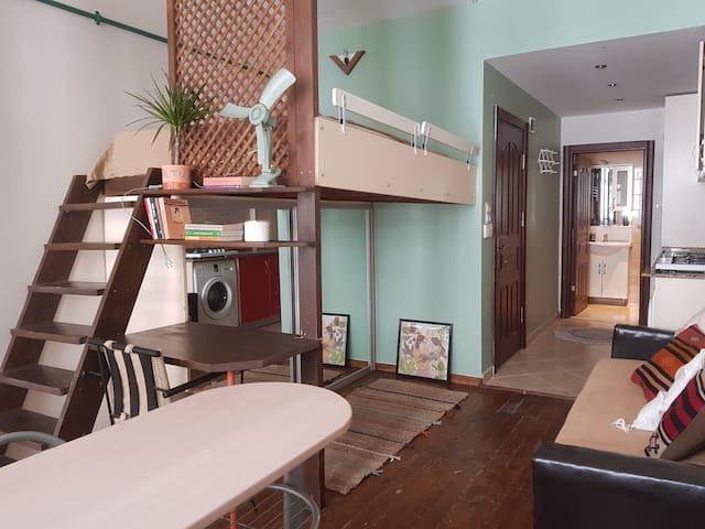 Studio apartment in Moda, Kadikoy